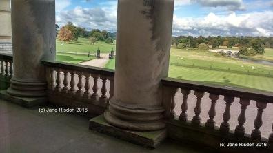 Front view of Kedleston Hall 2016