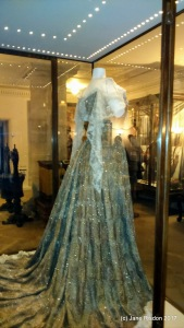 The Peacock Dress worn by Lady Curzon at the Dehli Durbar in 1903. (c) Jane Risdon 2016