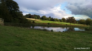 Front view from Kedleston Hall (c) Jane Risdon 2016
