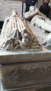 Curzon Tomb: A Knight and his Lady (c) Jane Risdon 2016