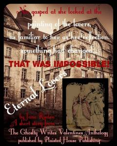 Eternal Lovers, Ghostly Writes Valentines Anthology 2017 available 14th Feb 2017 FREE
