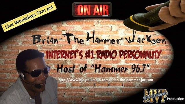 The Brian Hammer Jackson Show: live chat with Jane Risdon on his global radio show
