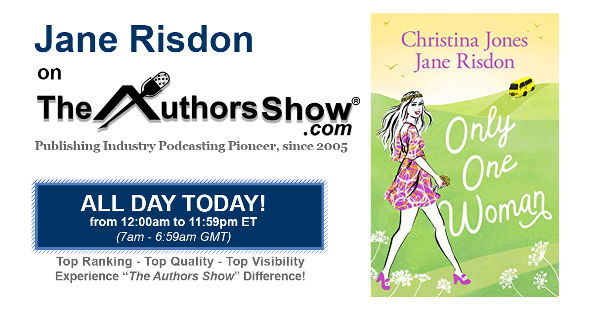 Back on The Authors Show today chatting about Only One Woman, Carnaby Street in 1968 and more…