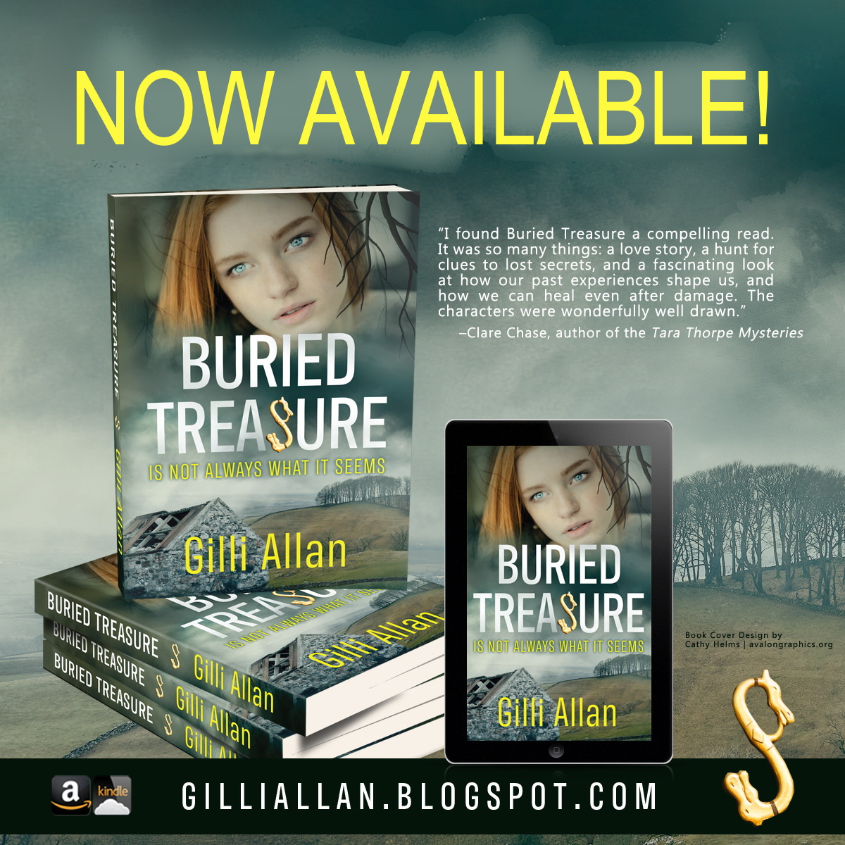 Gilli Allan: a Chest full of Secrets, Archaeology, Illustrations, and her brand new cover is revealed here…