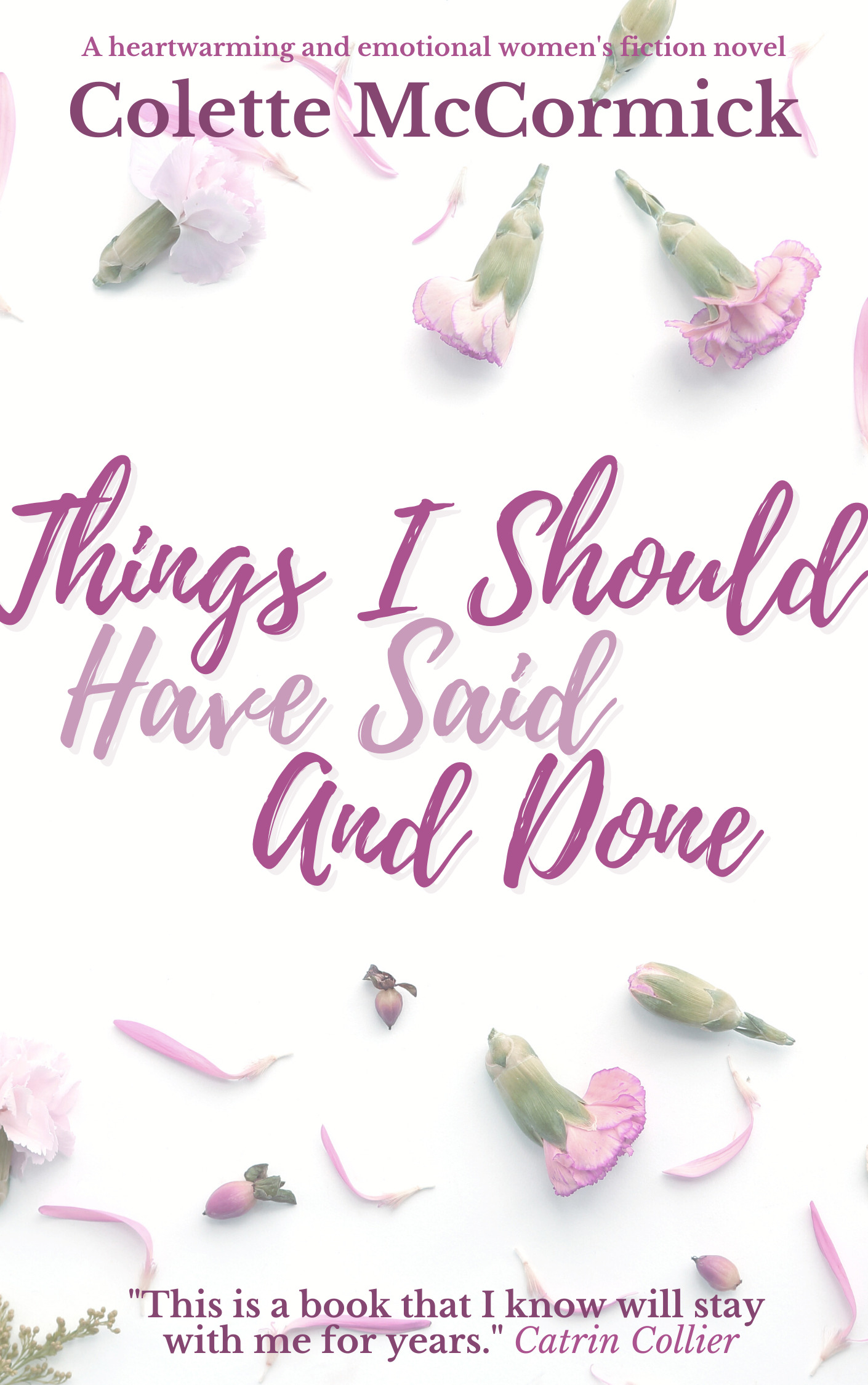 Colette McCormick is my Guest Author today along with George, from Things I Should Have Said and Done…