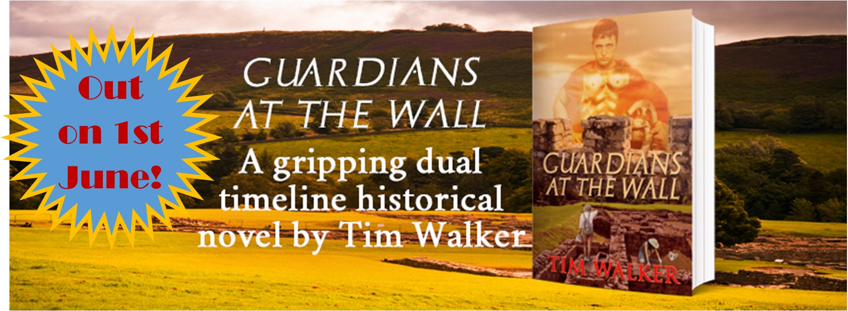 Tim Walker: Author of Guardians at the  Wall is my Guest Author
